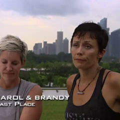 Carol & Brandy were eliminated from the race in 5th place.