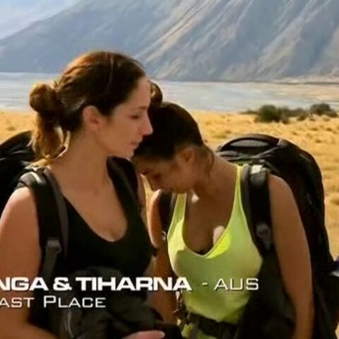 Inga & Tiharna were eliminated from the race in 10th place.