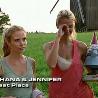 Shana & Jennifer were eliminated from the race in 7th Place after they butted heads at the Detour.