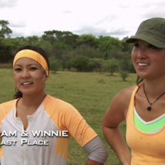 Pam & Winnie were eliminated from the race in 7th place after floundering at the Detour.