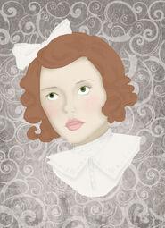 The little girl in white by katdewitt-d6tp3pl