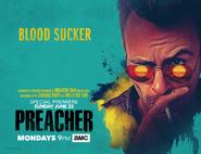 Preacher season 2 poster - Blood Sucker