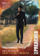 Pilot Topps card - Time of the Preacher