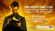 Preacher - SDCC Schedule