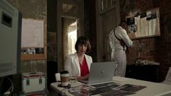 Featherstone watches over Jesse through surveillance