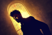 Preacher season 1 - Jesse Custer stainless glass window