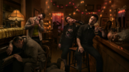 Preacher season 2 - Jesse Cassidy and Tulip in a New Orleans bar