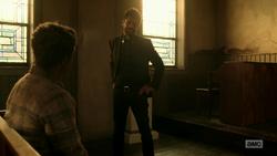 Jesse hallucinates Eugene