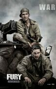 Fury (David Ayer – 2014) poster 4