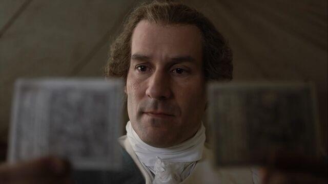 File:George Washington examines the bills – Turn - Washington's Spies.jpg