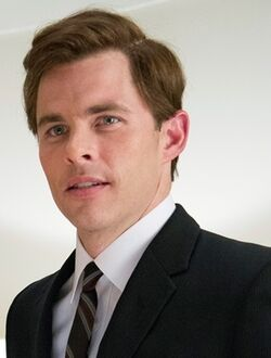 John F. Kennedy played by James Marsden in The Butler