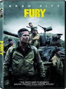 Fury (David Ayer – 2014) DVD front cover