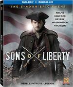 Sons of Liberty (Kari Skogland – 2015) Season 1 Blu-ray front cover 2