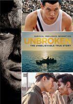 Unbroken (Angelina Jolie – 2014) DVD cover
