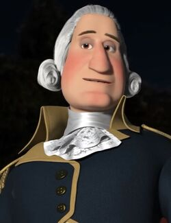 George Washington voiced by Jess Harnell 2