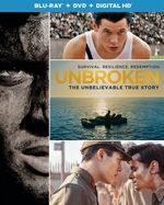 Unbroken (Angelina Jolie – 2014) Blu-ray cover