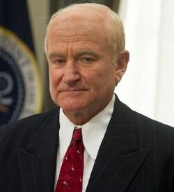 Dwight D. Eisenhower played by Robin Williams in The Butler