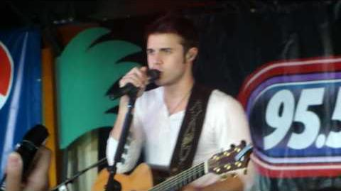 Kris Allen - Heartless Gangster's Paradise - Point Pleasant, NJ 5-28-10