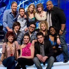 American Idol Season 9 Studio Recording Top 12