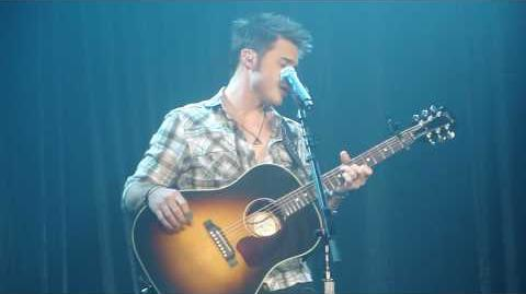"Kris Allen - ""Heartless"" - Sovereign Center, Reading, PA 9-8-09"