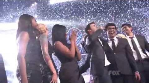 Kris Allen American Idol 8 (2009) Winning Moment HQ
