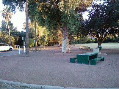 Harold Wright Bell Park terrain