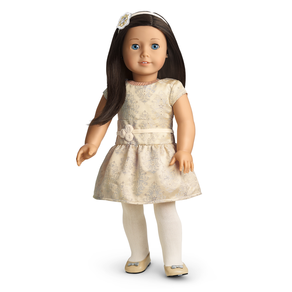 Brocade Holiday Dress | American Girl Wiki | FANDOM powered by Wikia
