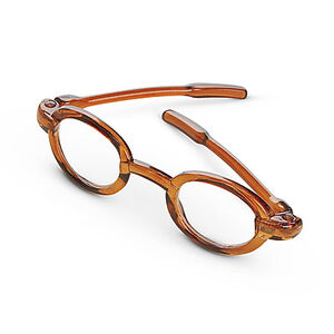 BrownOvalGlasses