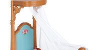 Half-Canopy Bed