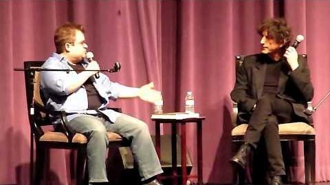 Neil Gaiman & Patton Oswalt @ Saban Theater in L.A. 6 28 11 pt2 of 6