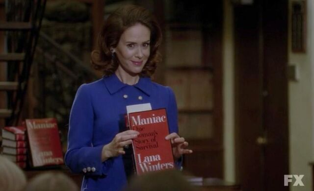 File:Lana Winters with Maniac book.jpg