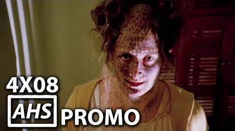 "American Horror Story Freak Show 4x08 Promo ""Blood Bath"""