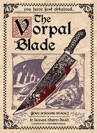 Vorpal Blade poster