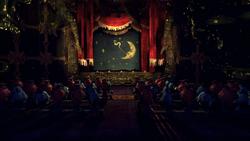 Inside of Dreary Lane Theatre
