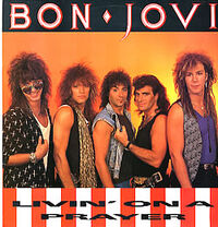 Bon Jovi Livin' On A Prayer cover