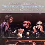Dionne & Friends That's What Friends Are For cover