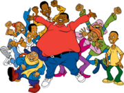 Fat-Albert-And-The-Cosby-Kids-Characters