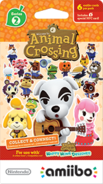 Animal Crossing Cards Series 2 Package