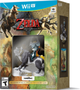The Legend of Zelda Twilight Princess HD with Wolf Link & Midna Amiibo