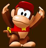 Mini Diddy Kong Artwork