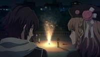Speaking As Fireworks Sparkle