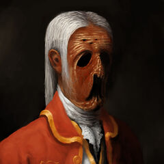 Retrato de Alexander con baja cordura.