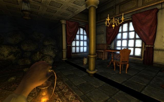 Dark Room Game Processing