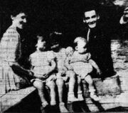 Roger Barboux with family