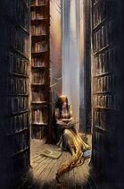 Anne III studying