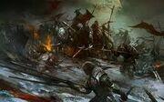 Goblins fight