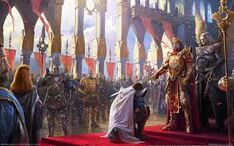 Thornos knighted by Robert