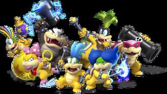 Koopalings - New Super Mario Bros U