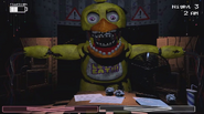Chica-in-office