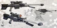 Sniper Rifle Concept Art
